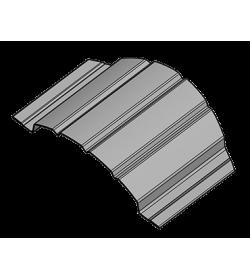 Şipcă metalică gard OMEGA 0.55 mm